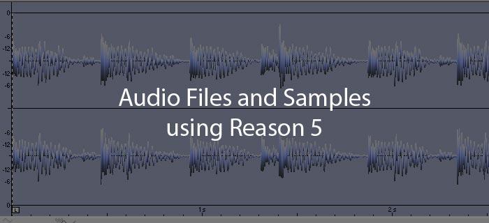 Slicing audio in reason |.