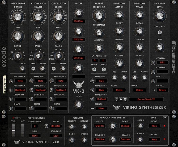 VK-2 Viking Synthesizer