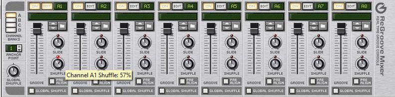 Deep House Regroove mixer