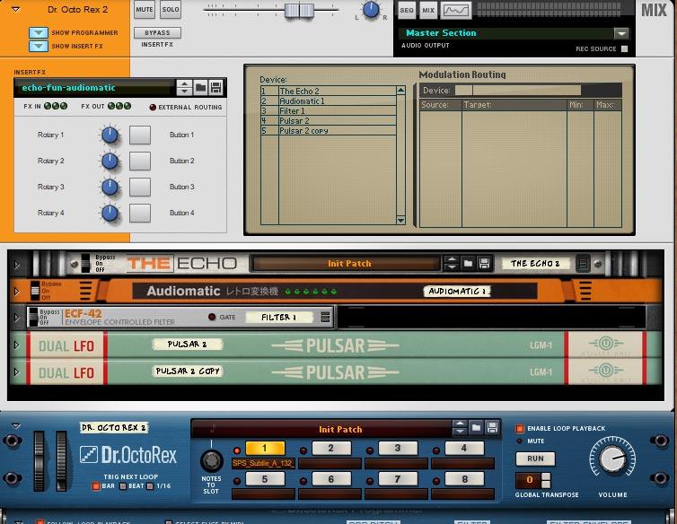 audiomatic feedback loop