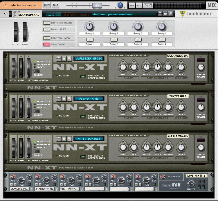 Electronic Piano Set