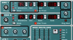 Frequency Modulation using the Noise Oscillator
