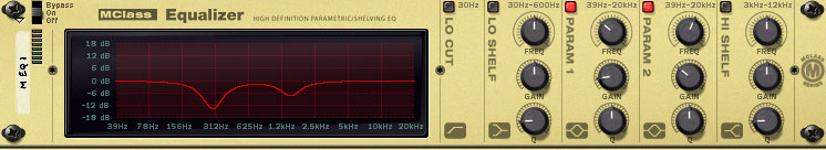 MClass Equalizer in Reason for mastering a song