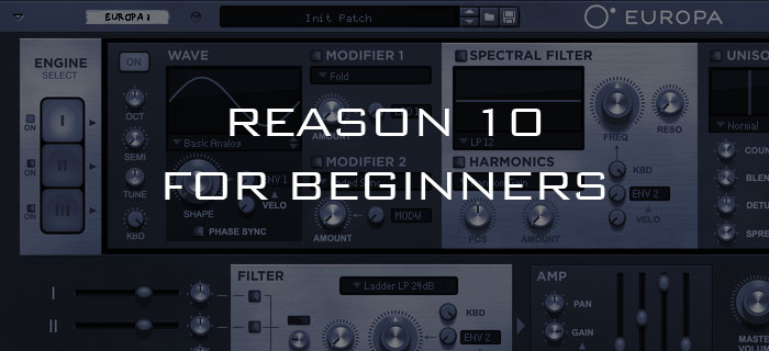 Reason tutorials   Make music and learn using Propellerhead