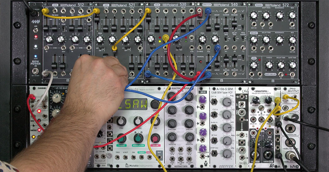 Modular synthesis in real life