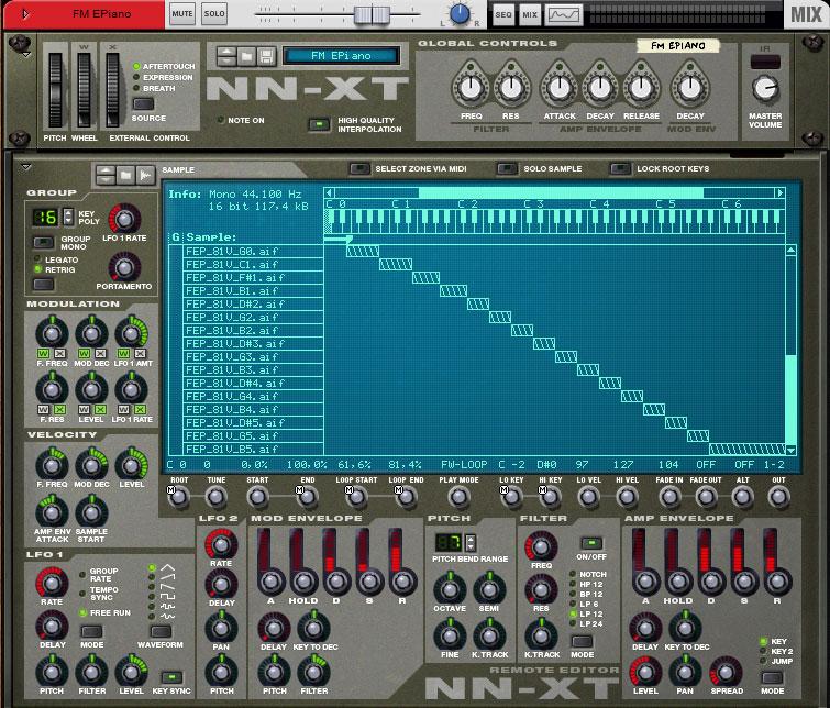 FM Electronic Piano