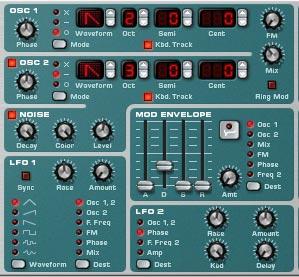 Noise Oscillator Background noise