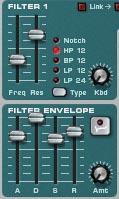 noise oscillator envelope