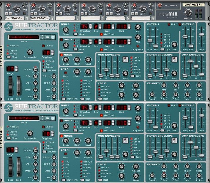 Noise Oscillator Combinator