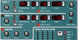 Noise Oscillator Subtractor