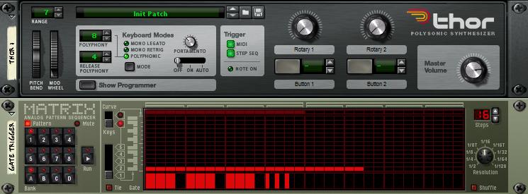 Use an oscillator as an LFO