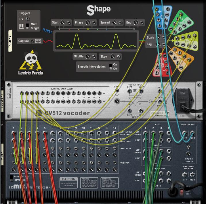 Control voltage mixer 14:2
