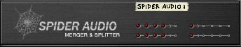the spider audio merger and splitter in propellerhead reason