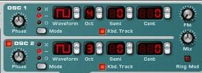 Creating a Chiptune sound using 2 oscillators