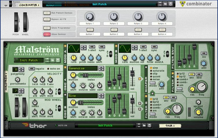synthesizer drums tutorial in reason part 5 reason experts. Black Bedroom Furniture Sets. Home Design Ideas