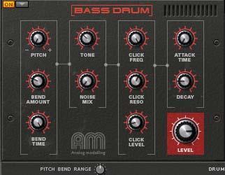 Goa Bass drum synth drum Kong