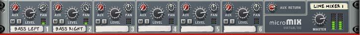 Goa Bass line mixer
