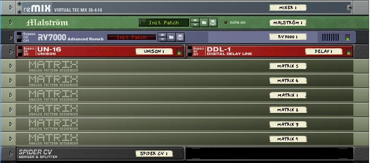 Matrix and CV Effects