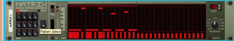 Matrix Repitcher note information