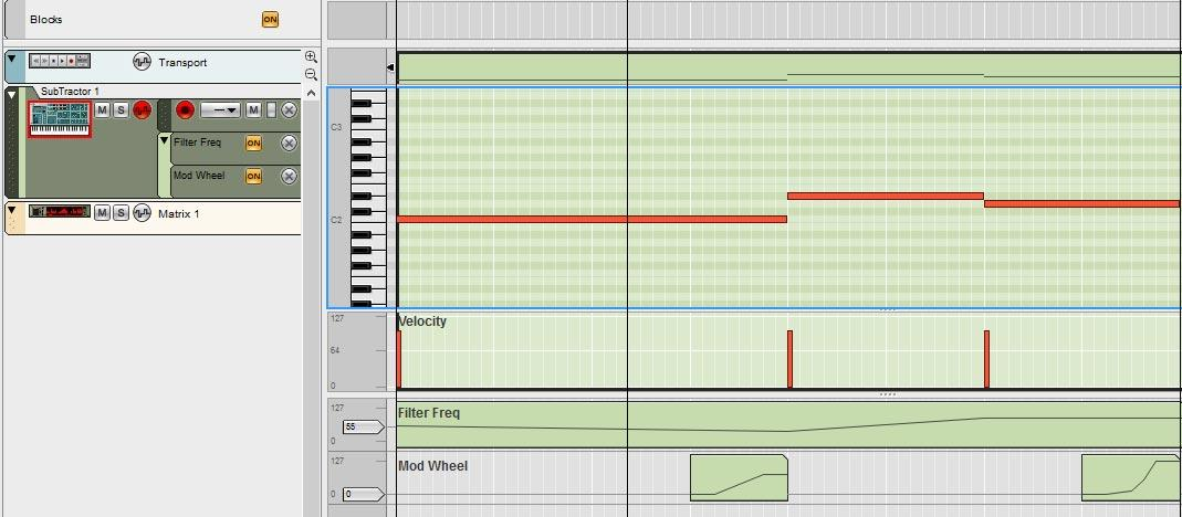 Matrix Repitcher to Amp