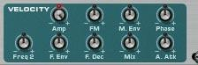 Sequencer Velocity settings on instrument
