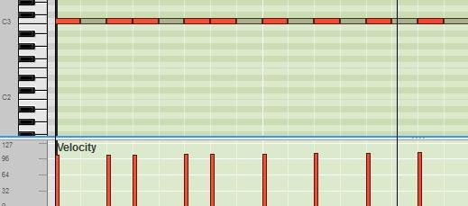 sequencer notes mute