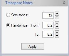 Transpose All Notes in Reason